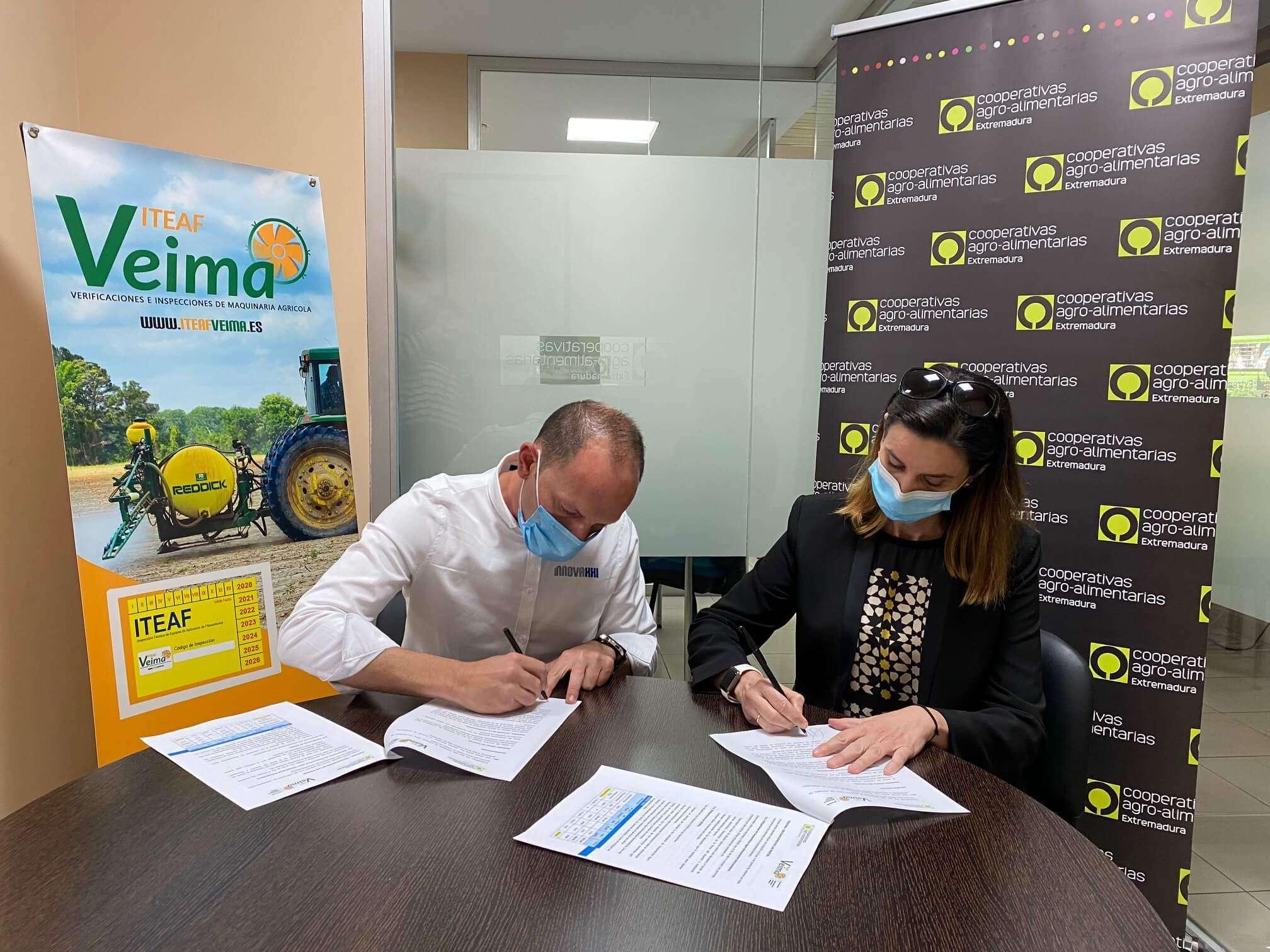 ITEAF VEIMA COOPERATIVAS AGRO-ALIMENTARIAS EXTREMADURA